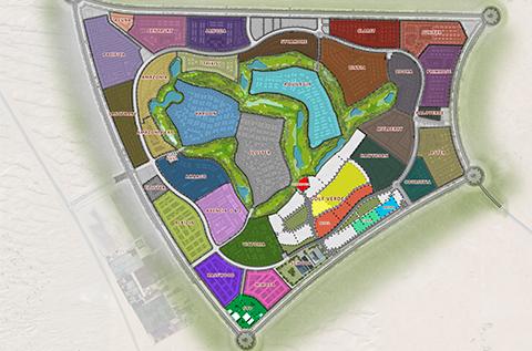AKOYA Masterplan - Location Map
