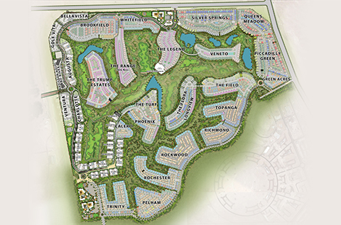 DAMAC Hills Masterplan - Location