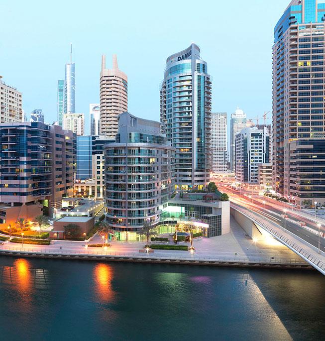 The Waves Dubai Marina | Buy Apartments in Dubai | DAMAC Properties