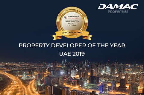 International Business Magazine Award 2019 - DAMAC Properties was awarded Property Developer of the Year 2019