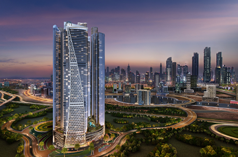 DAMAC Towers by Paramount Hotels & Resorts, Burj Area