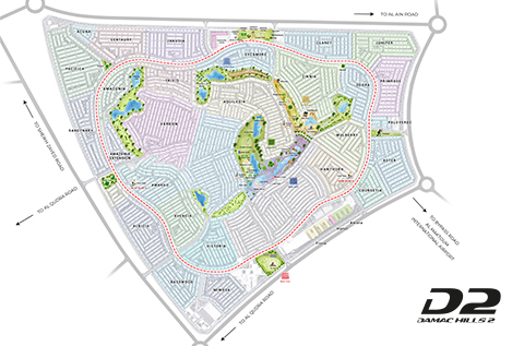 DAMAC HILLS 2-Master Plan-Location Map