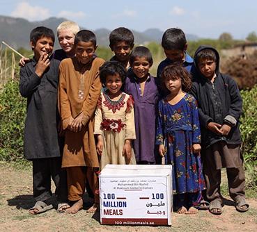 """داماك الخيرية"""" تتبرع بمليون درهم لحملة """"100 مليون وجبة"""